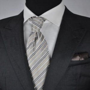 ARMANI Black Label Dark Gray 10% CASHMERE Jacket